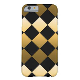 Coque Barely There iPhone 6 Motif de diamant d'or