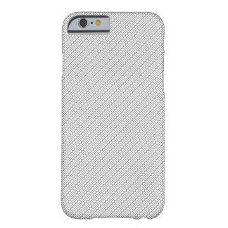 Coque Barely There iPhone 6 noir et blanc je téléphone la couverture