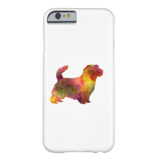 Coque Barely There iPhone 6 Norfolk Terrier in watercolor