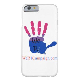 Coque Barely There iPhone 6 Nous cas bisexuel de téléphone de la main R1