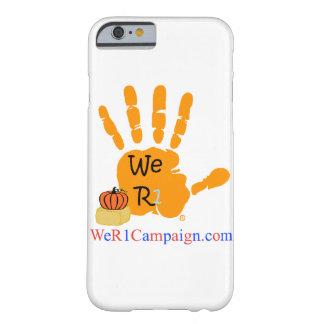 Coque Barely There iPhone 6 Nous cas de téléphone de main de R1 Halloween