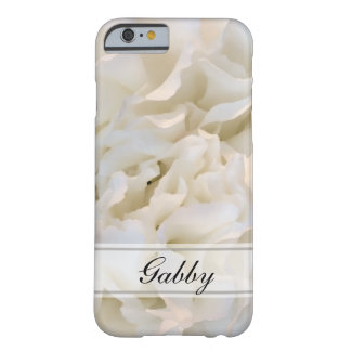 Coque Barely There iPhone 6 Oeillets blancs floraux