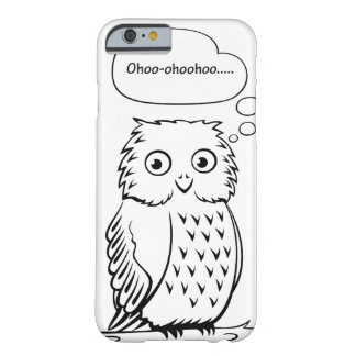 """Coque Barely There iPhone 6 """"Ohoo…"""" Hibou"""