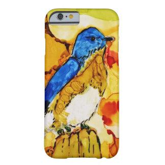 Coque Barely There iPhone 6 Oiseau de bleu de chute