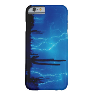 Coque Barely There iPhone 6 Orage bleu