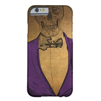 Coque Barely There iPhone 6 Os élégants squelettiques dans un costume