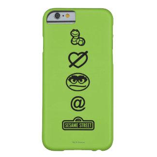 Coque Barely There iPhone 6 Oscar les icônes de rouspéteur