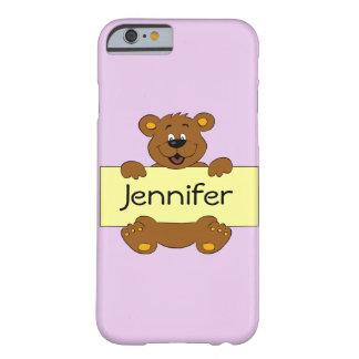 Coque Barely There iPhone 6 Ours heureux avec les filles personnalisables de
