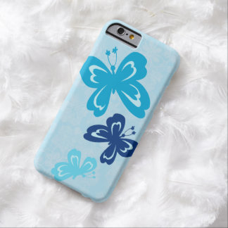 Coque Barely There iPhone 6 Papillon et ketmie hawaïenne Pareau de Honolua