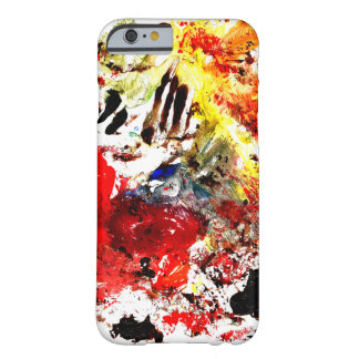 Coque Barely There iPhone 6 Peignez le cas de l'iPhone 6/6s d'éclaboussure