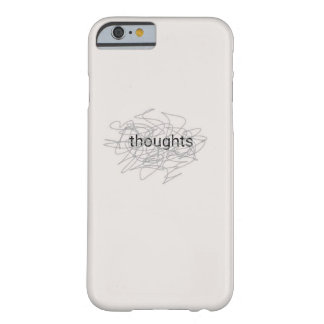 Coque Barely There iPhone 6 Pensées