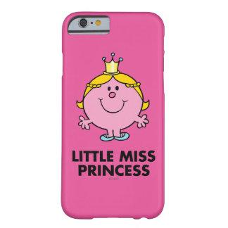 Coque Barely There iPhone 6 Petit arrière - plan de couronne de Mlle le