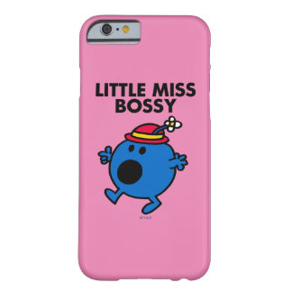 Coque Barely There iPhone 6 Petit lettrage noir de Mlle Bossy |