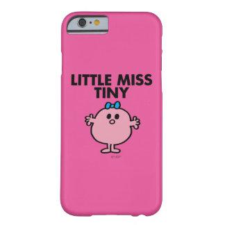 Coque Barely There iPhone 6 Petit lettrage noir de Mlle Tiny |