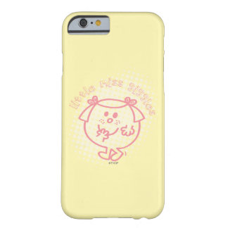 Coque Barely There iPhone 6 Petit lettrage rose de Mlle Giggles |