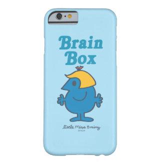 Coque Barely There iPhone 6 Petite boîte de cerveau de Mlle Brainy |