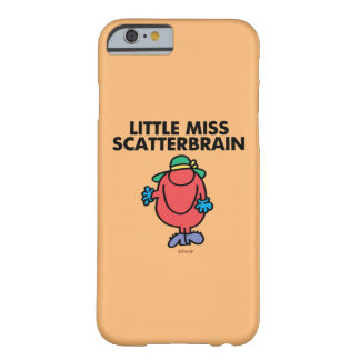 Coque Barely There iPhone 6 Petite Mlle de ondulation Scatterbrain