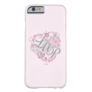 Coque Barely There iPhone 6 Petite Mlle le princesse - perfection 100%