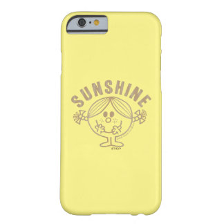 Coque Barely There iPhone 6 Petite Mlle Sunshine de Brown
