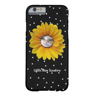 Coque Barely There iPhone 6 Petite Mlle Sunshine Smiling Cat