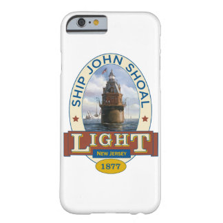 Coque Barely There iPhone 6 Phare de banc de John de bateau
