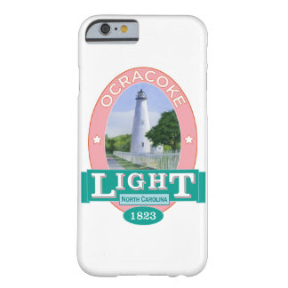 Coque Barely There iPhone 6 Phare d'Ocracoke