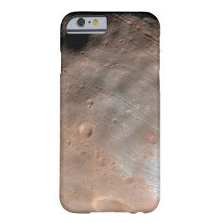Coque Barely There iPhone 6 Phobos, lune de Mars, vers le haut de fin