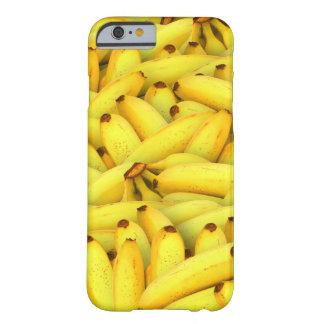 Coque Barely There iPhone 6 photo fraîche de fruit de bananes d'été