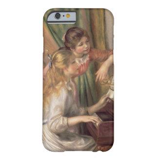 Coque Barely There iPhone 6 Pierre jeunes filles de Renoir un | au piano