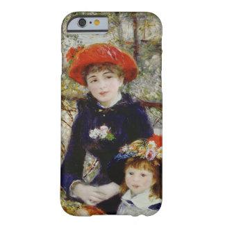 Coque Barely There iPhone 6 Pierre un Renoir | deux soeurs, ou sur la terrasse