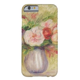 Coque Barely There iPhone 6 Pierre un vase à Renoir | de fleurs