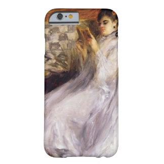 Coque Barely There iPhone 6 Pierre une lecture de jeune femme de Renoir |
