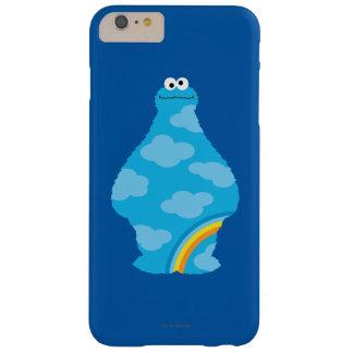 Coque Barely There iPhone 6 Plus Arcs-en-ciel de monstre de biscuit