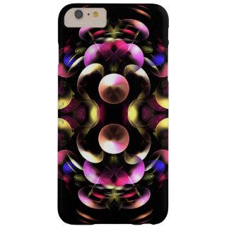 Coque Barely There iPhone 6 Plus Art abstrait coloré de fractale