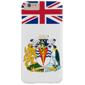 Coque Barely There iPhone 6 Plus Cas antarctique britannique de téléphone de