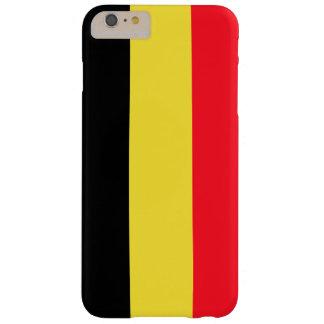 Coque Barely There iPhone 6 Plus Cas belge de téléphone de drapeau