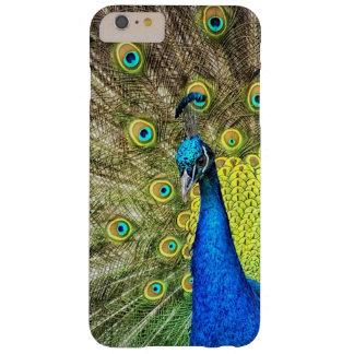Coque Barely There iPhone 6 Plus Cas de téléphone portable de paon