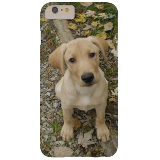 Coque Barely There iPhone 6 Plus Chiot d'or de Labrador