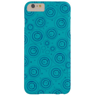 Coque Barely There iPhone 6 Plus Conception artsy bleue