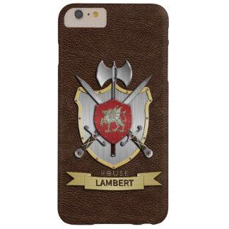 Coque Barely There iPhone 6 Plus Crête Brown de bataille de Sigil de dragon