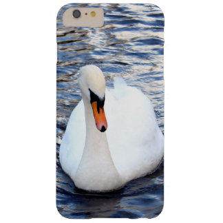 Coque Barely There iPhone 6 Plus Cygnes sur l'eau