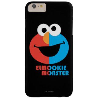 Coque Barely There iPhone 6 Plus Demi de visage d'Elmo et de biscuit