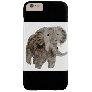 Coque Barely There iPhone 6 Plus Éléphant d'art d'animal sauvage