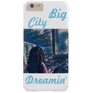 Coque Barely There iPhone 6 Plus Grand cas de téléphone de Dreamin de ville