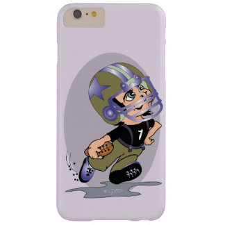 Coque Barely There iPhone 6 Plus iPhone 6/6s de BANDE DESSINÉE du FOOTBALL de