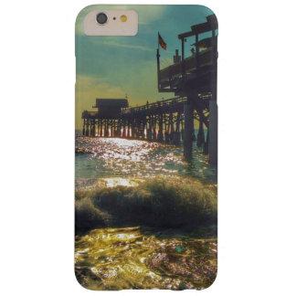 Coque Barely There iPhone 6 Plus iPhone 6S de pilier de plage de cacao plus à peine