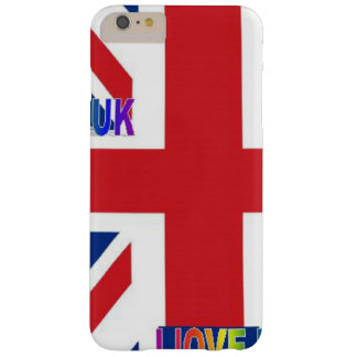 COQUE BARELY THERE iPhone 6 PLUS J'AIME LE R-U