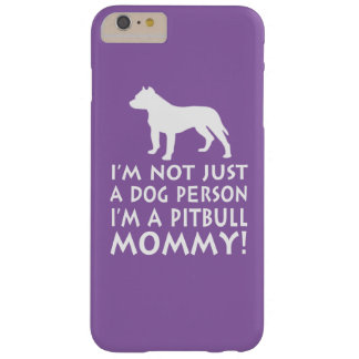 Coque Barely There iPhone 6 Plus Je suis une maman de Pitbull