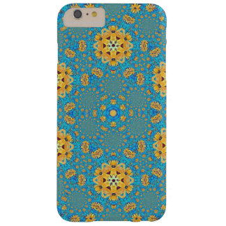 Coque Barely There iPhone 6 Plus Kaleidoacope de tournesol