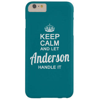 Coque Barely There iPhone 6 Plus Laissez Anderson le manipuler